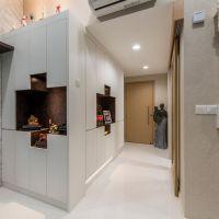Entrance Display & Storage Cabinet