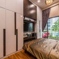 Master Bedroom V2 TV Feature cum Wardrobe