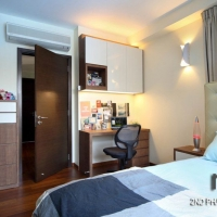 Bedroom_bedhead & study