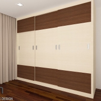 Bedroom wardrobe @1st floor