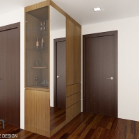 Master bedroom_display & storage
