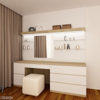 Master bedroom_dressing table