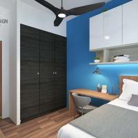 Bedroom V2- Platform cum Study Table
