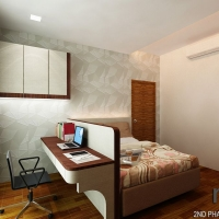 Master bedroom- view 3- Study