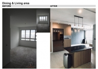 B&A Dining & Living area