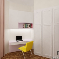 Bedroom 3_study & wardrobe