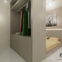 Master bedroom 3_bedframe cum wardrobe