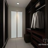 Master bedroom_walk-in wardrobe