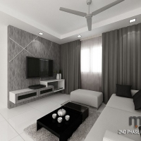 Living area_TV feature