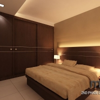 Master bedroom_wardrobe & bedframe