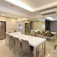 Dining area_Island & Tall uniit