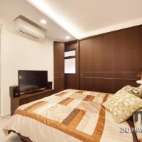 Master bedroom_wardrobe & TV console