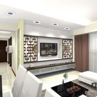 Living area - TV feature (Open)