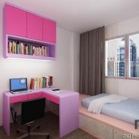 Bedroom 3_platform & study