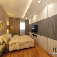 Master bedroom_TV console