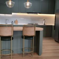 Kitchen Cabinet cum Island