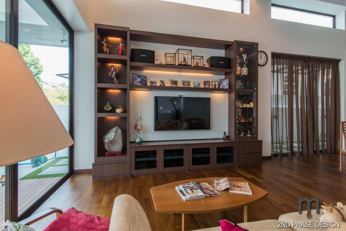 Living area_TV feature