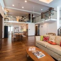 Living & Dining area& Kitchen_Loft