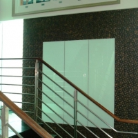Staircase_feature wall