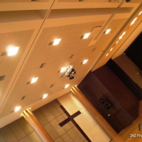 Acoustic ceiling & Lighting