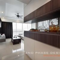 Living Open Shelves Display