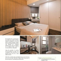 Bedroom & Study & Common bathroom