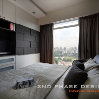 Master Bedroom with TV Feature