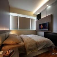 Master bedroom_TV feature