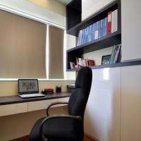 Study & Open Bookshelves