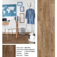 2ND19011 Rustic Coffee Oak