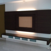 Living area - TV feature wall 1