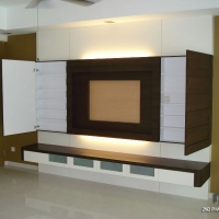 Living area - TV feature wall 2
