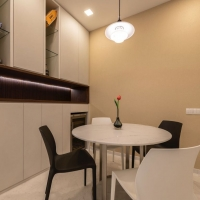 Dining Area_Feature wall_