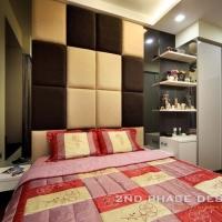 Master Bedroom Bedframe and Window Bay