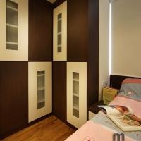 Bedroom 2 - bedframe cum wardrobe